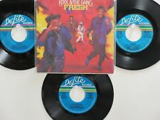 LOT OF 4 ' KOOL & THE GANG ' HIT 45's+1PS[Fresh]     THE 70's&80's!