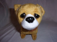 """Foland Group Animated Plush Toy Dog 6"""" Baby Chihuahua Barks Wags Tail"""