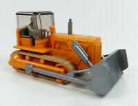 Schubraupe mit Fahrer orange Wiking 1:87 H0 ohne OVP [AI11-A3]