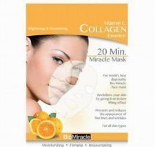 Bio Miracle vitamin C Collagen essence 20 min miracle mask ONE mask