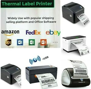 📻📠 Shipping Label printer USB Network Direct Thermal Barcode Ethernet 4x6inc
