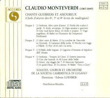 Monterverdi: Chants guerriers et amoureux (CD, 4 Discs, Accord)
