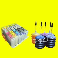 5 refillable cartridge auto reset +150ml ink for Canon PGI-670 CLI-671 570 571
