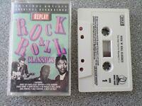 ROCK & ROLL CLASSICS - VARIOUS ARTISTS - ALBUM - CASSETTE TAPE