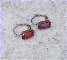 ❤❤❤  Antike Ohrringe aus Silber 800 mit Schmuckstein - um 1900   ❤❤❤  (# 6038)