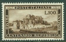 ITALY : 1949. Sassone #600 Very Fine, Mint Never Hinged. Perfect stamp. Cat €340