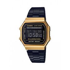 Casio Classic A168WEGB-1BDF Retro Gold and Black Digital Watch