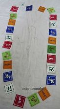 PF13 Traditional OM Mantra Lokta paper windhorse 25 Prayer Flags Nepal Tibet