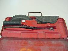 Unicore Hand Ratsche Rohrbiegegerät. Unkomplett . Bögen für Kupferrohr 20+25 mm