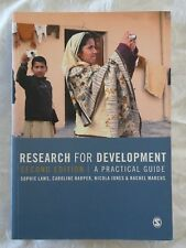 Research For Development A Practical Guide by Sophie Laws et al. 2nd Edn.