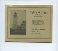 New Listing1912 Highland Light, North Truro lighthouse Cape Cod Ma travel brochure