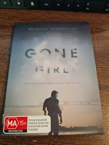 DVD Gone Girl Ben Affleck Region 4 In Cardboard Slip Case Rosamund Pike
