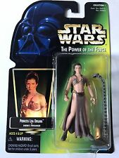 Kenner Star Wars The Power of the Force: Princess Leia Organa as Jabbas Prisoner