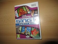 Disney Sing It: Family Hits (Nintendo Wii, 2010), New And Sealed pal version