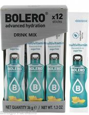 Bolero Sticks - Multivitamin - 12 Sticks für 12 x 500 mL Getränk