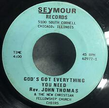"""Lightnin' Hopkins - You Cook All Right / T Model Blues VG- 7"""" Vinyl 45 45-374"""