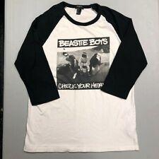 New BEASTIE BOYS CHECK YOUR HEAD Logo T-Shirt S-3XL