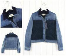 Abrigos y chaquetas de mujer de color principal azul 100% algodón talla S