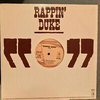"""RAPPIN' DUKE - 12"""" Vinyl Record Single - VG"""