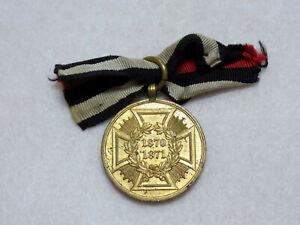 Original Imperial German Army War Commemorative Medal of 1870-71