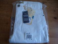 NEW-SEALED £28 Next Slim/Skinny White Summer Stretch Jeans 30S-30/29 IT-46 EU-38