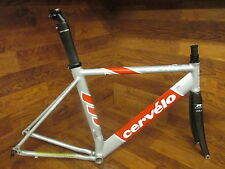CERVELO TEAM SOLOIST AERO ROAD ROAD TRIATHLON  FRAME SET 54 CM CARBON FORK