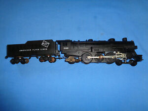 American Flyer #21085 Pacific Steam Locomotive & Tender. Run/Smokes Well 1963
