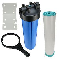 Hauswasserfilter 20 Zoll BigBlue Vorfilter Gartenfilter Brunnen + Leercontainer