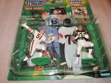 Starting Lineup 1998 Autographed Dick Butkus Bears / Junior Seau (Chargers)