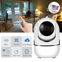 Wireless Indoor HD 1080P 2MP PTZ IP IR WIFI Camera Night Vision Home Security