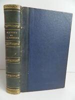 Obras Paul-Louis Courier Precedido De Su Vida Armand Carrel Firmin Didot 1857