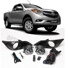 Mazda BT-50 BT50 2011-2018 Fog Lights Lamps Complete Kit WITH FREE BULB
