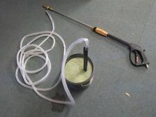 Mattis Wet Sandblast Gun,Lance and Suction hose for wet pressure washer blasting