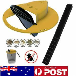 Reusable Flip N Slide Bucket Lid Mouse Trap Automatic Mouse Trap Rat Catcher A+