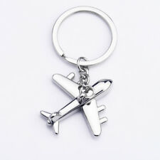 1pc Creative Simulation Mini Aircraft Key Ring Keyring Keychain Pendant Gift