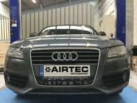 Airtec Audi A5 2.7 TDI & 3.0 TDI Uprated FMIC Front Mount Intercooler Upgrade