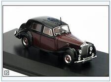 RSD001 Rolls Royce Silver Dawn, dunkelrot/schwarz, 1949-55, Oxford 1:43, NEU &