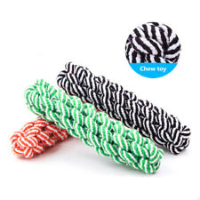 Pet Dog Chew Toys Puppy 20cm Cotton Rope Braided Tug Training Tooth Cleaning Toy