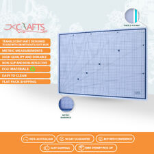 Professional Self Healing Clear Cutting Mat 3-Ply Translucent A2 Size 45 x 60cm