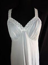 Vintage Shadowline full petticoat slip, Nylon, SZ 38, White