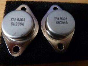[2PCS] BU208A TO3 Transistor