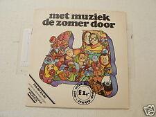 EP MET MUZIEK DE ZOMER DOOR AUTOTRON BEEKSE BERGEN SINGLE 7 INCH