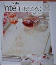 Intermezzo Christmas Impressions Weihnachten Bilder Tischdecken STickheft