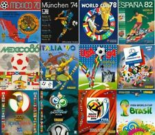 All Panini World Cup albums from Mexico 1970 to 2018 -in PDF- Soccer