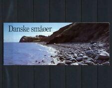 (NNSP 127) DENMARK 1995 USED BOOKLET NICE SHIP BOAT STAMPS