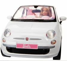 Mattel Barbie Fiat Car and Doll Exclusive Gift Playset