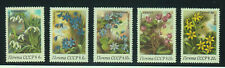 Russia Stamps 1983 Spring Flowers Complete set MNH