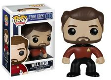 Star Trek The Next GENERATON Will Riker Pop! Vinyl. NEUF. VENDEUR BRITANNIQUE.