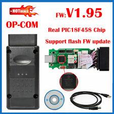V1.95 For OPEL OP COM Vauxhall OBD2 Diagnostic Code Reader Scanner Tool OPCOM AU
