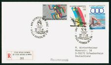 Mayfairstamps Greece 1996 Olympics Archea Olympia to Germanyt wwp923